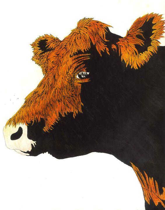 cow - Ben Roback's Art