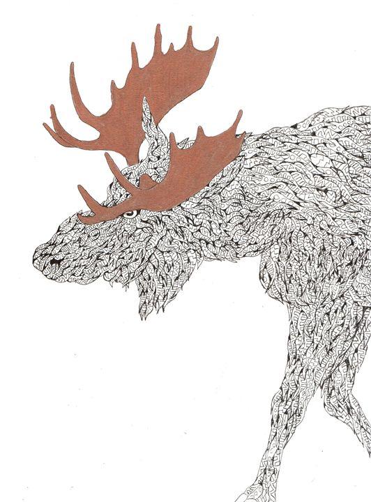 moose - Ben Roback's Art