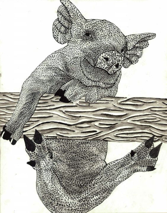 pig - Ben Roback's Art
