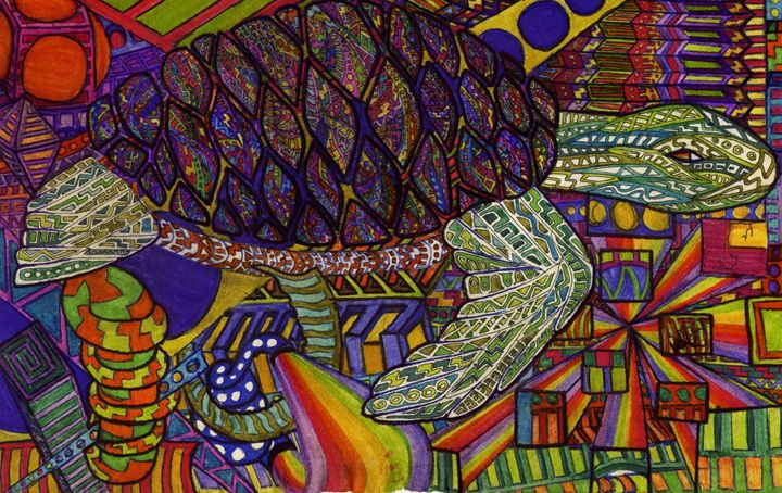triply turtle - Ben Roback's Art