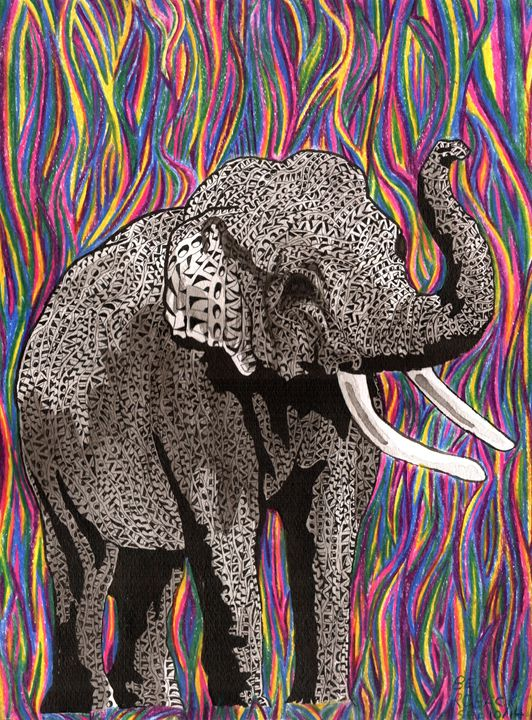 elephant - Ben Roback's Art