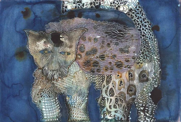 the jaded tabby - Ben Roback's Art