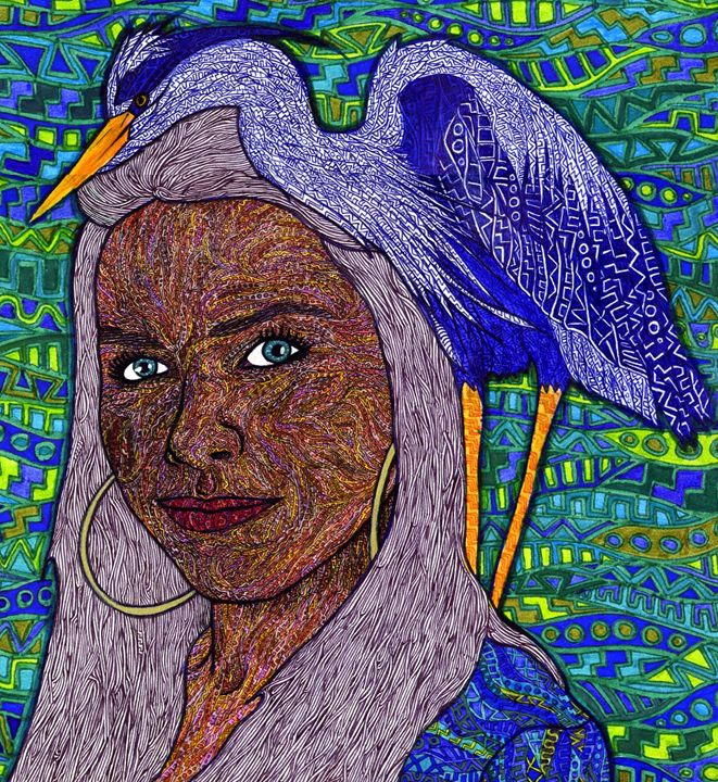 blue - Ben Roback's Art