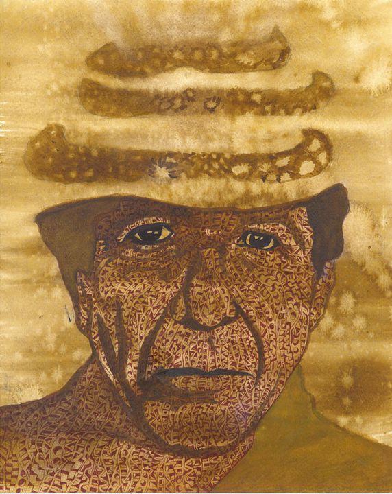 Leonard Cohen monk - Ben Roback's Art