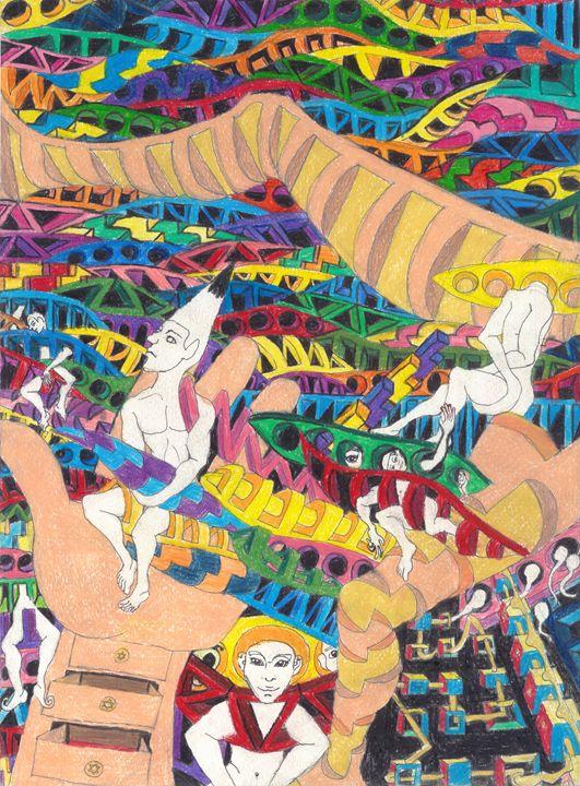 happy pencil - Ben Roback's Art