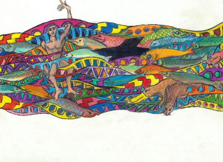 fish dish - Ben Roback's Art