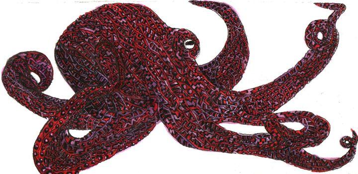 octopus - Ben Roback's Art