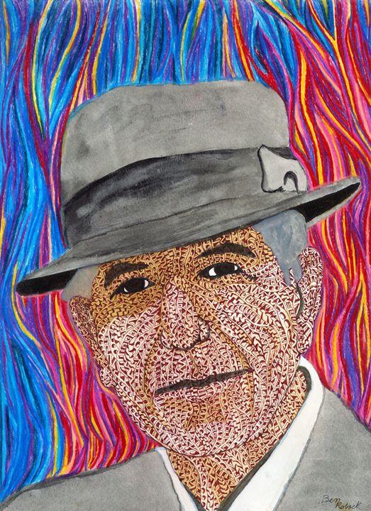 Leonard cohen - Ben Roback's Art