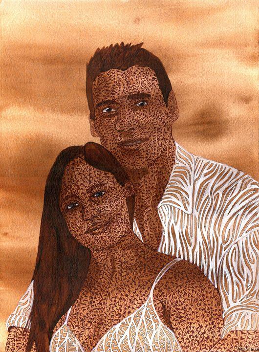 lovers on mars - Ben Roback's Art