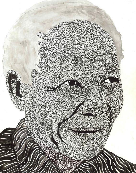Nelson Mandela - Ben Roback's Art