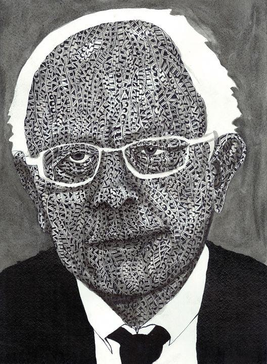 Bernie sanders - Ben Roback's Art