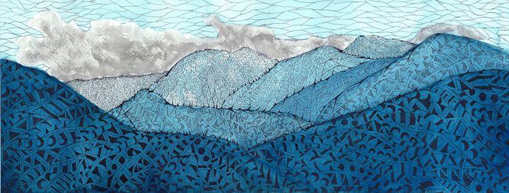 mountains - Ben Roback's Art