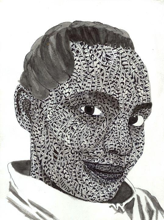 clown - Ben Roback's Art