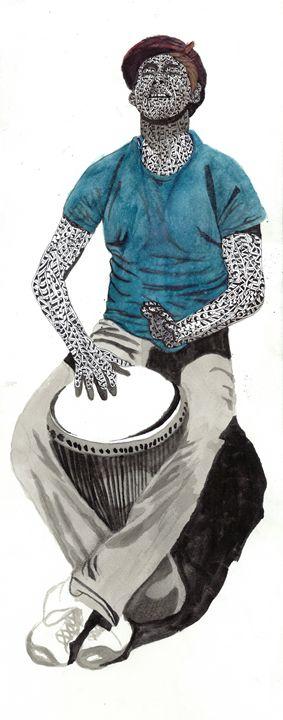 drummer boy - Ben Roback's Art
