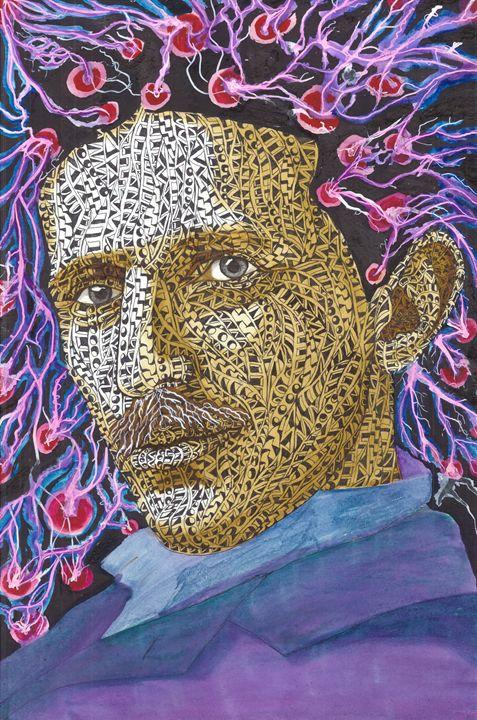 Nikola Tesla - Ben Roback's Art