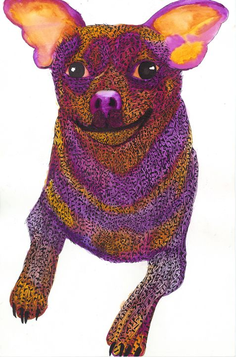 chihahua - Ben Roback's Art