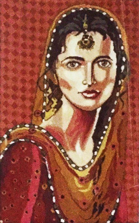 SAADGI Handcrafted Tapestry - Puja Bhakoo