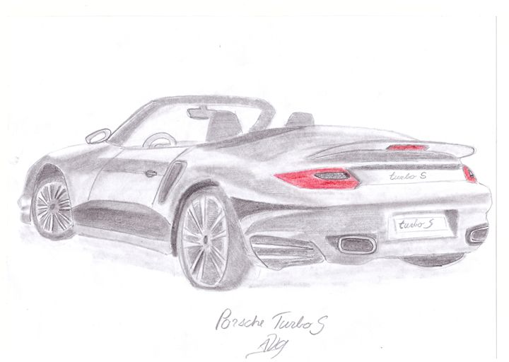 Porsche 911 Turbo S Raw - Car Design