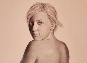 Escarlett Johansson Drawing
