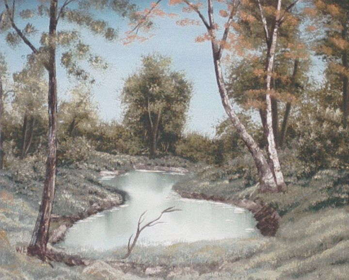 Wooded Pond - Ernie Westfall