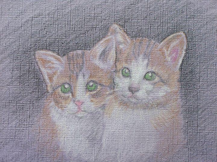 Two Kittens - Ernie Westfall