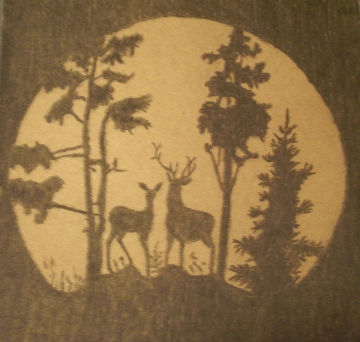 A Moonlight Silhouette - Ernie Westfall