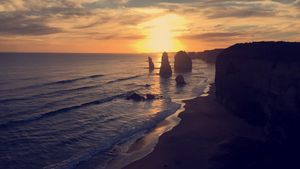 Beautiful Great Ocean Road Melbourne
