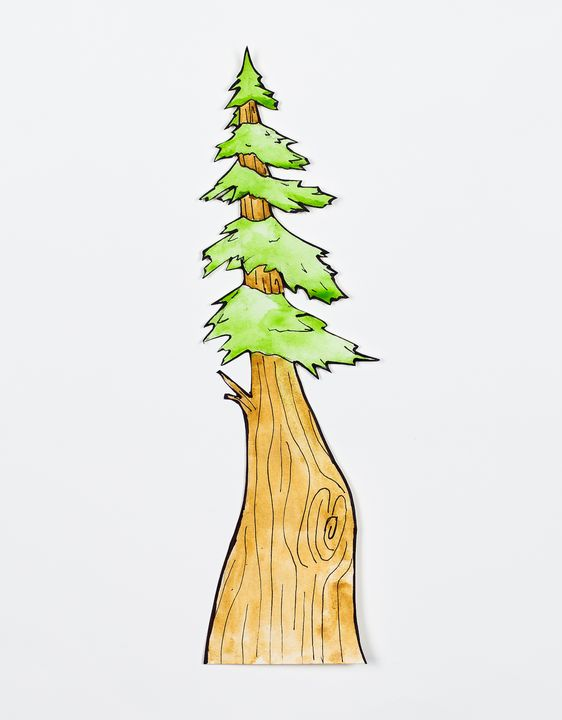 funky tree - Megan Ludwig