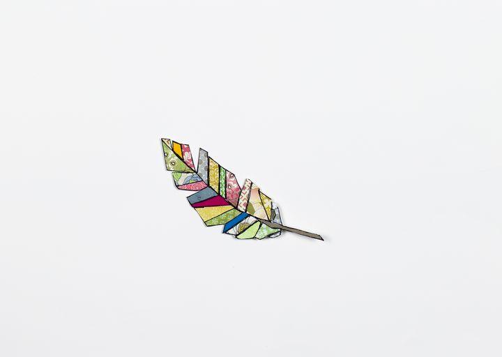 feather falling - Megan Ludwig
