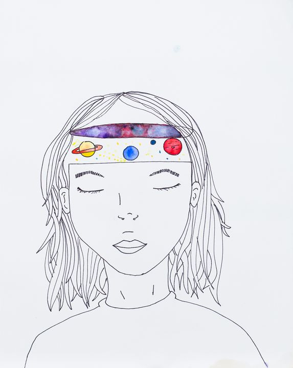 spaced out - Megan Ludwig