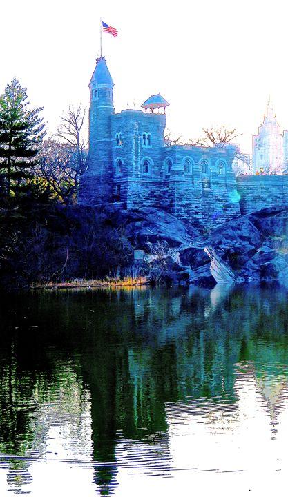 Central Park - Belvedere Castle 3b1 - Ken Lerner Fine Art Photography