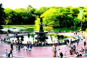 Central Park - Bethesda Fountain - Ken Lerner Fine Art Photography