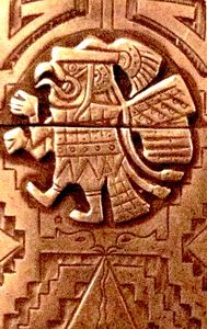 Quetzalcoatl and Pyramid of the Sun