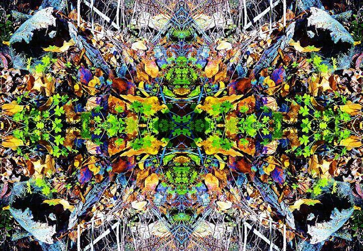 Exploding Green Forest Floor - Sherrie Hall