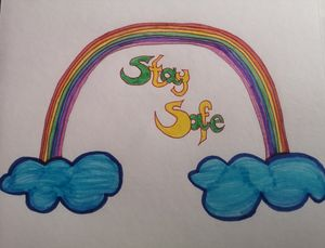 Rainbow stay safe