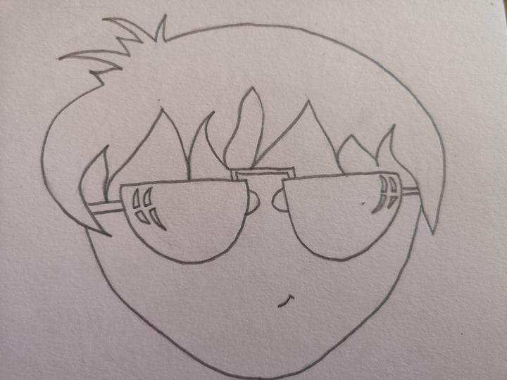 Sunglasses boy - GSart