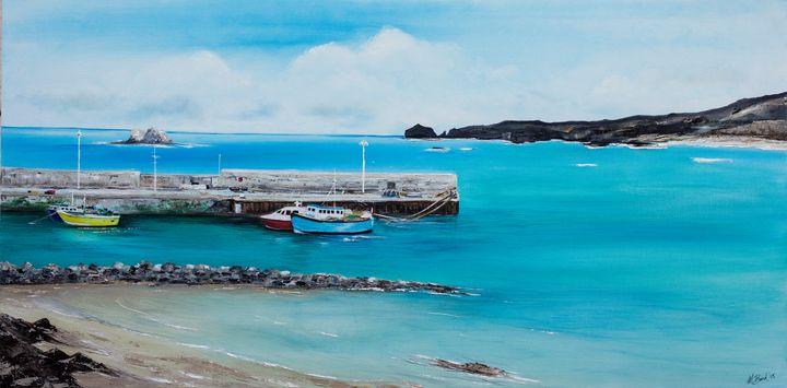 Malin Head Port Co. Donegal - Irish Art
