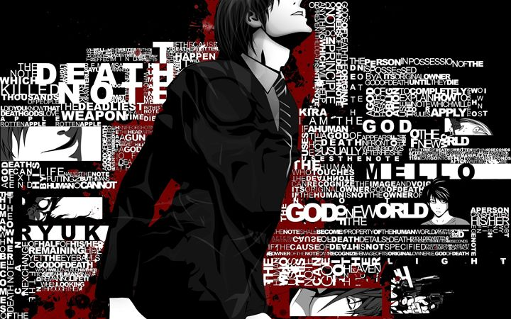 THE DEATH NOTE - PhotoShop Art Designs By Chirag