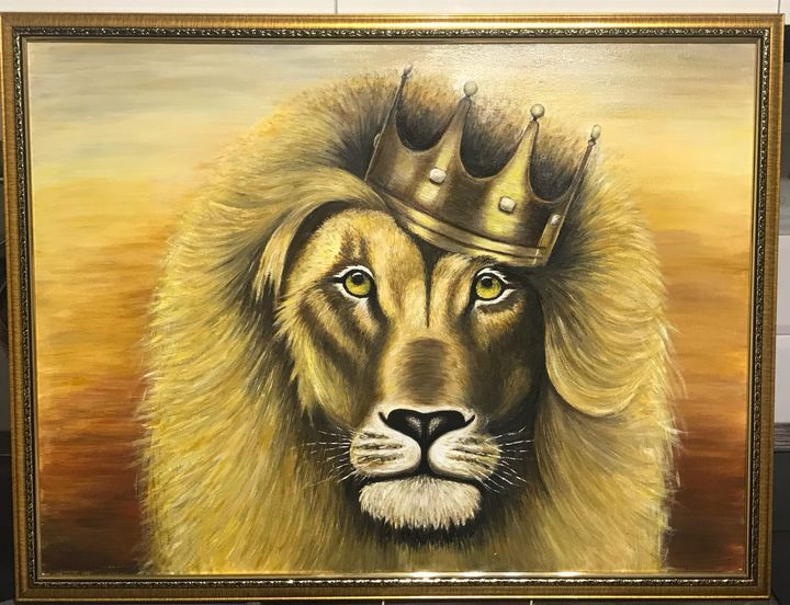 Lion - Paintings