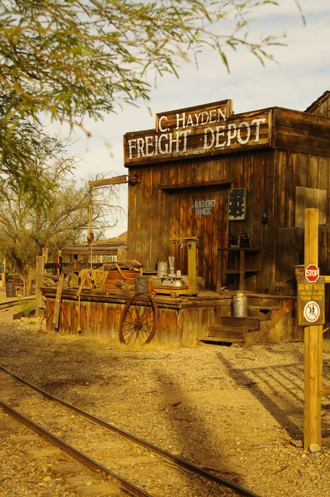 The Town Freight Depot - Photography by Rob