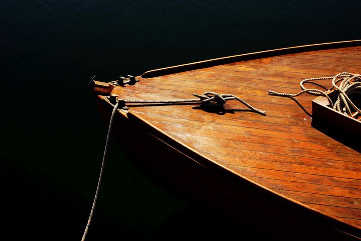 Wooden Boat Bow - Photography by Rob