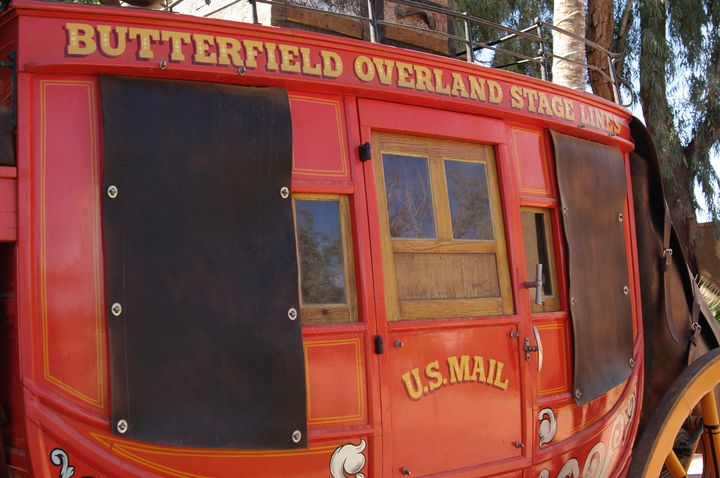 Butterfield Overland Stagecoach - Photography by Rob