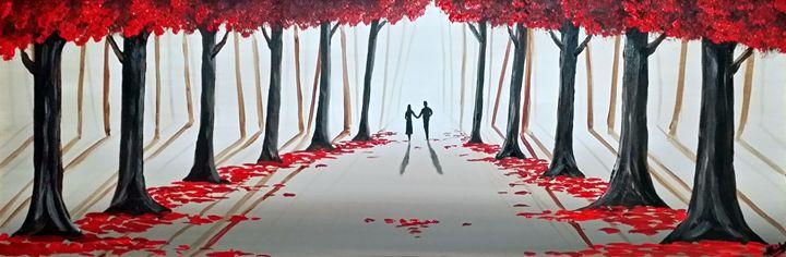 A Romantic Walk - Aisha Haider