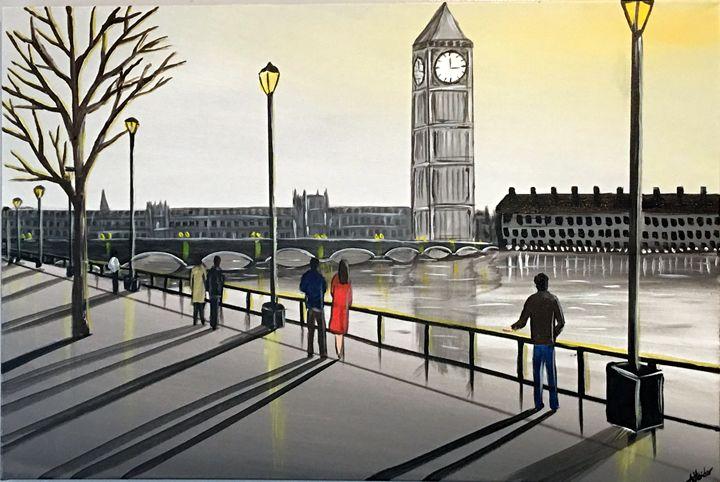 London Glow - Aisha Haider