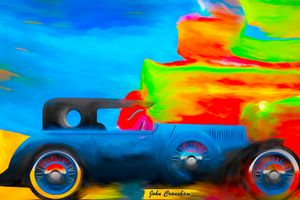 Road Car - Just Art by John