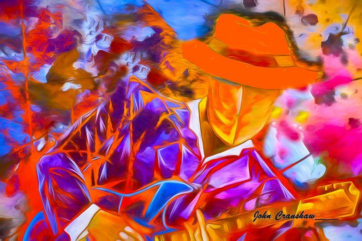 Delta Blues - Just Art by John