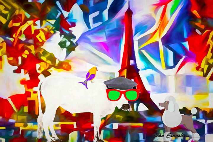 White Cow Paris - Just Art by John
