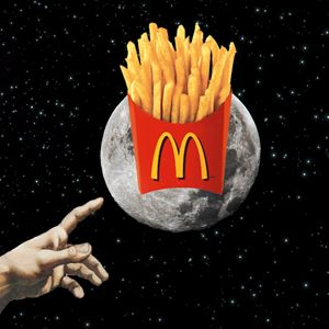 Mickey D's on the Moon