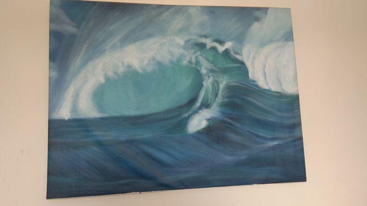Oceanic wave - Kshitiz