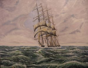 The Windjammer Entering Cape Horn